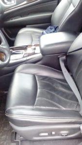 Infiniti jx35 сиденье водителя