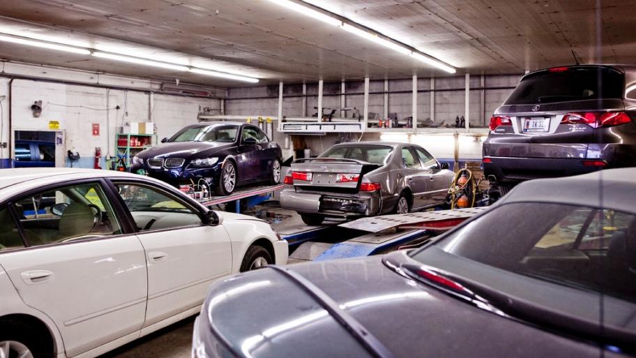 проверка ремонта кузова