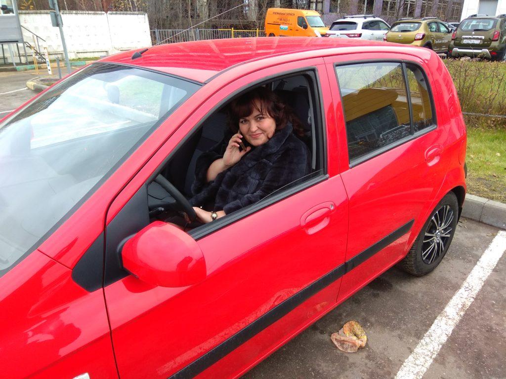 Юлия Назметова приобрела свой первый автомобиль